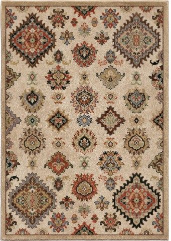 Orian Rugs Insanely Soft Southwest Larache Beige Area Large Rug
