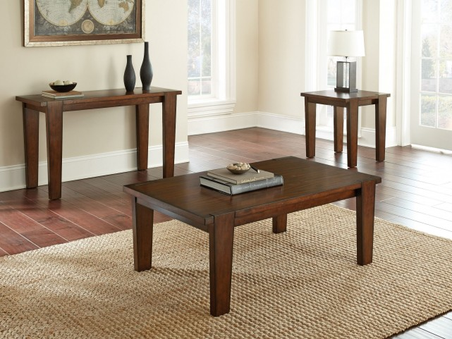 Vince Rustic Occasional Table Set