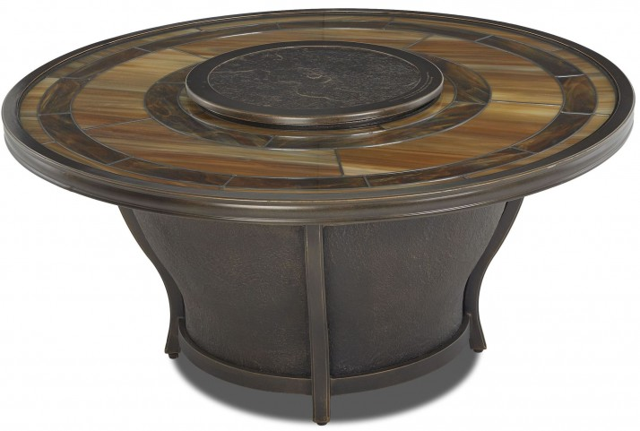Riviera Masterpiece Glass Top Fire Pit