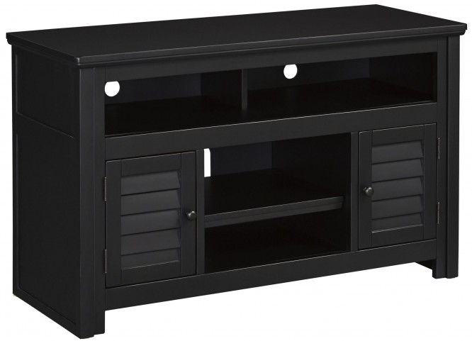 Brasenhaus Black Extra Large Tv Stand