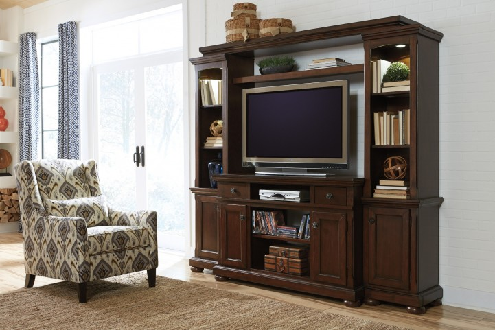 Porter Entertainment Wall Unit