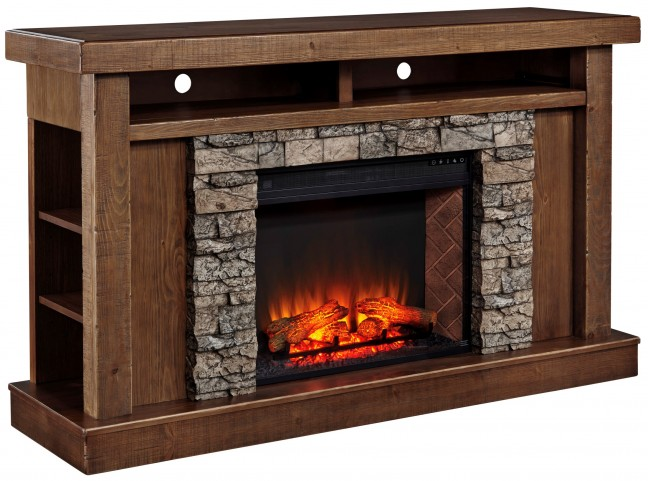 Tamilo Fireplace Surround With LG Infrared Fireplace Insert