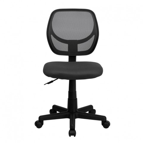 Mid-Back Gray Task Chair and Computer Chair