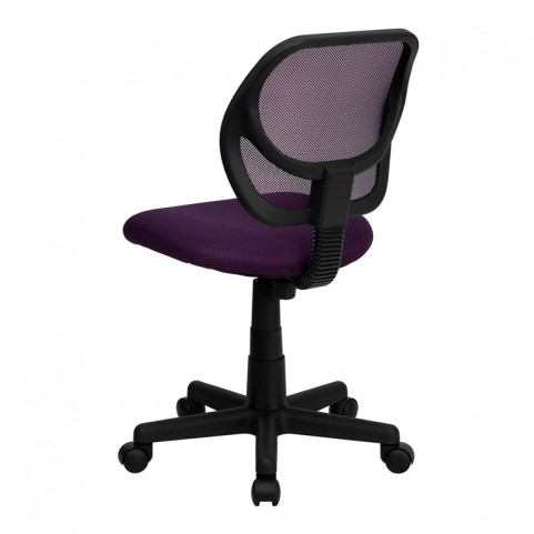 Mid-Back Purple Task Chair and Computer Chair
