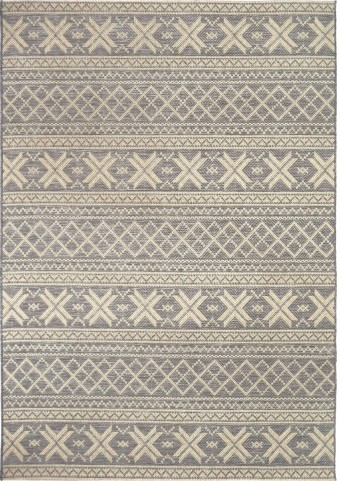 Orian Rugs Indoor/ Outdoor Textured Cablecross Gray Area Small Rug