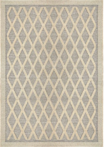 Orian Rugs Indoor/ Outdoor Diamonds Regal Dimension Gray Area Small Rug