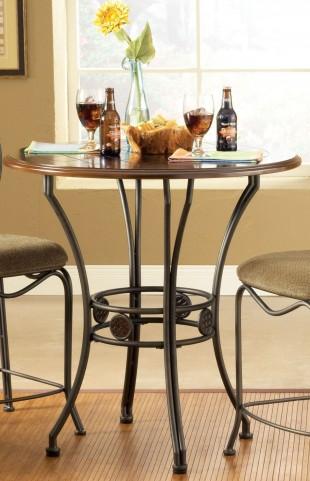 Wimberly Dark Cherry Round Dining Table
