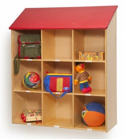 Red Roof Wall Storage