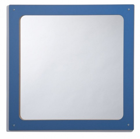 Framed Reversible Square Mirror