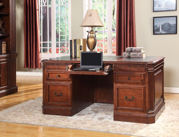 Wellington Double Pedestal Executive Desk