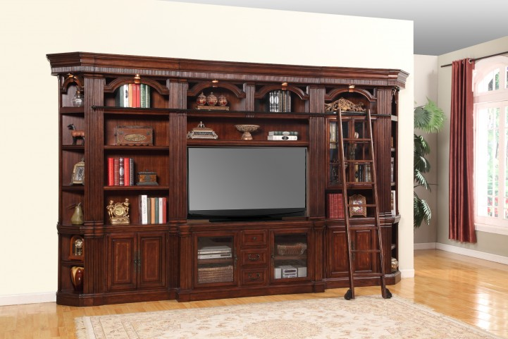 "Wellington 60"" Large Entertainment Wall Unit"
