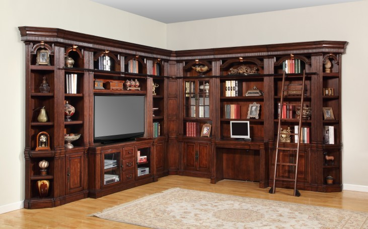 Wellington L-Shape Entertainment Wall Unit