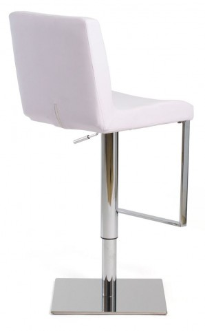 Euro Home Riva White Counter Height Stool