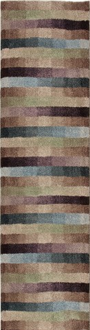 "Wild Weave Dynamic Rainbow Runner 96"" Rug"