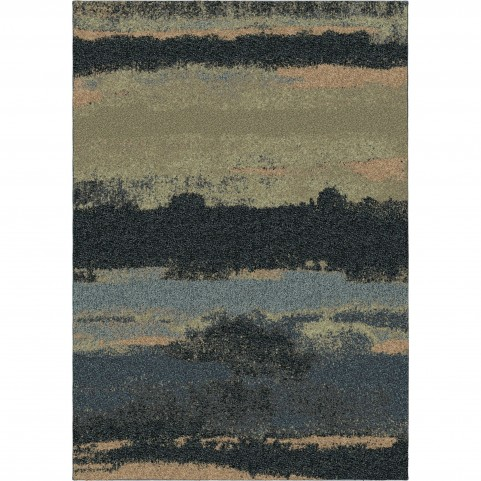 Canyon Steel Blue Large Rug