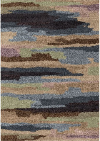 Orian Rugs Plush Scroll Pickard Multi Area Small Rug