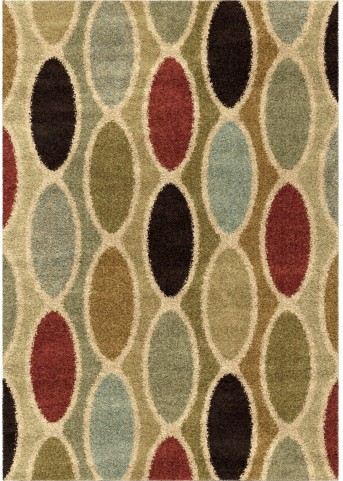 Wild Weave Plush Medallions Mazlow Multi Small Area Rug