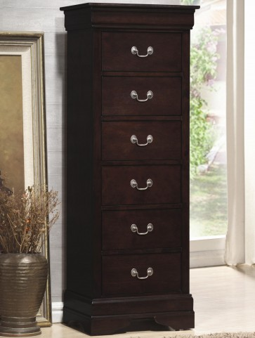 Louis Philippe Deep Cappuccino Chest