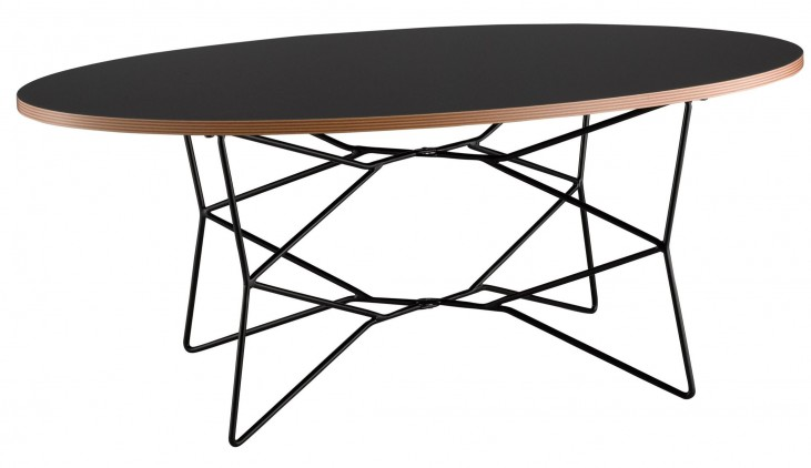 Network Black Coffee Table