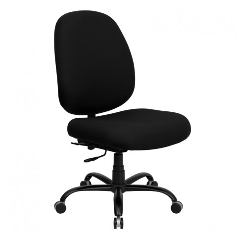 Hercules 500 lb. Capacity Big and Tall Black Office Chair with Extra WIDE Seat