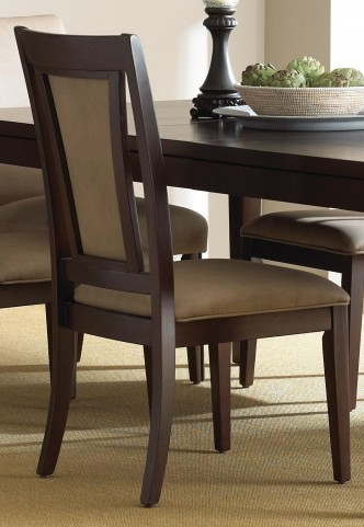 Wilson Merlot Cherry Side Chair Set of 2