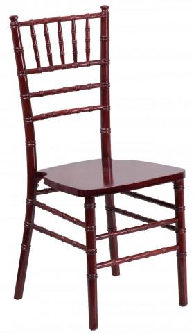 Flash Elegance Mahogany Wood Chiavari Chair