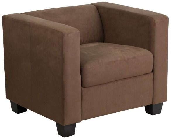 Prestige Series Chocolate Brown Microfiber Chair