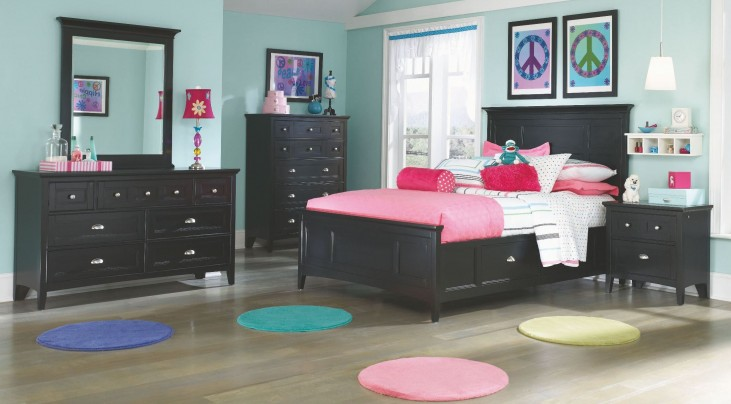 Bennett Youth Dual Side Panel Storage Bedroom Set