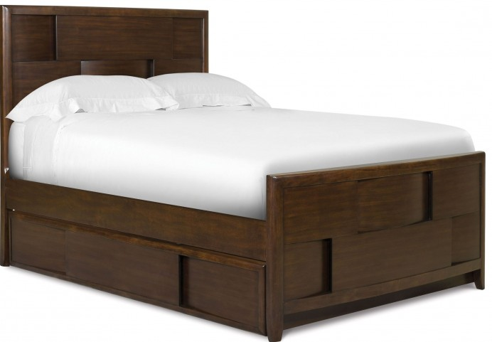 Twilight Full Panel Bed with Trundle