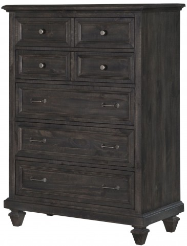 Calistoga Weathered Charcoal Drawer Chest