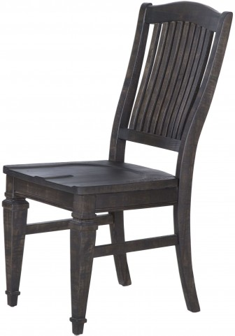 Calistoga Weathered Charcoal Desk Chair