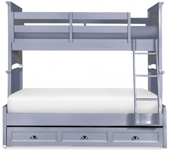 Graylyn Steel Drum Twin Over Full Bunk Bed