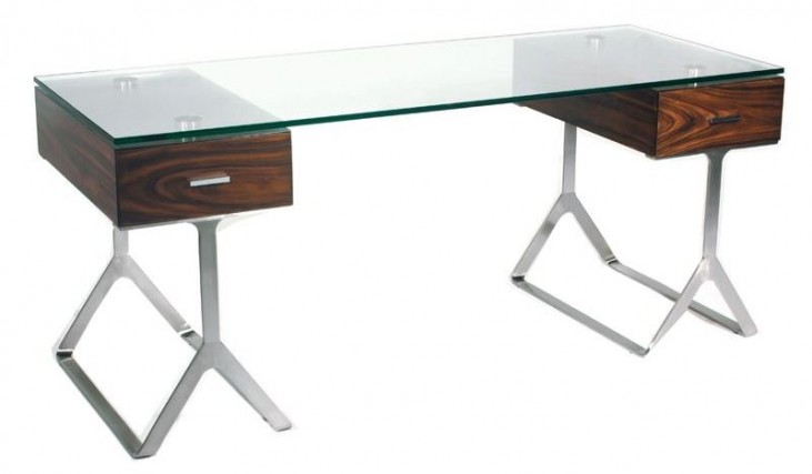 Zara Glass Computer Desk