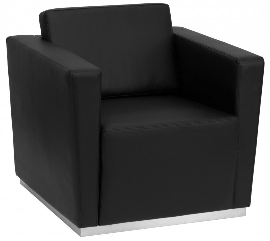 Hercules Trinity Series Black Leather Chair