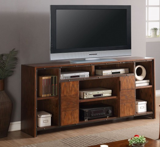 "Crossgrain Toffee 74"" TV Console"