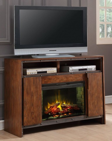 "Crossgrain Toffee 50"" Fireplace Console"