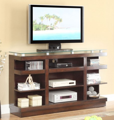 "Novella Dark Chocolate 65"" TV Cart"