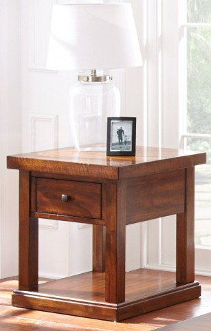 Zappa Medium Cherry End Table