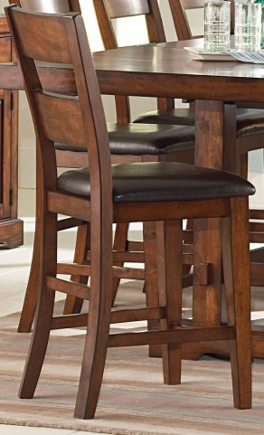 Zappa Medium Cherry Counter Chair Set of 2