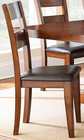 Zappa Medium Cherry Side Chair Set of 2