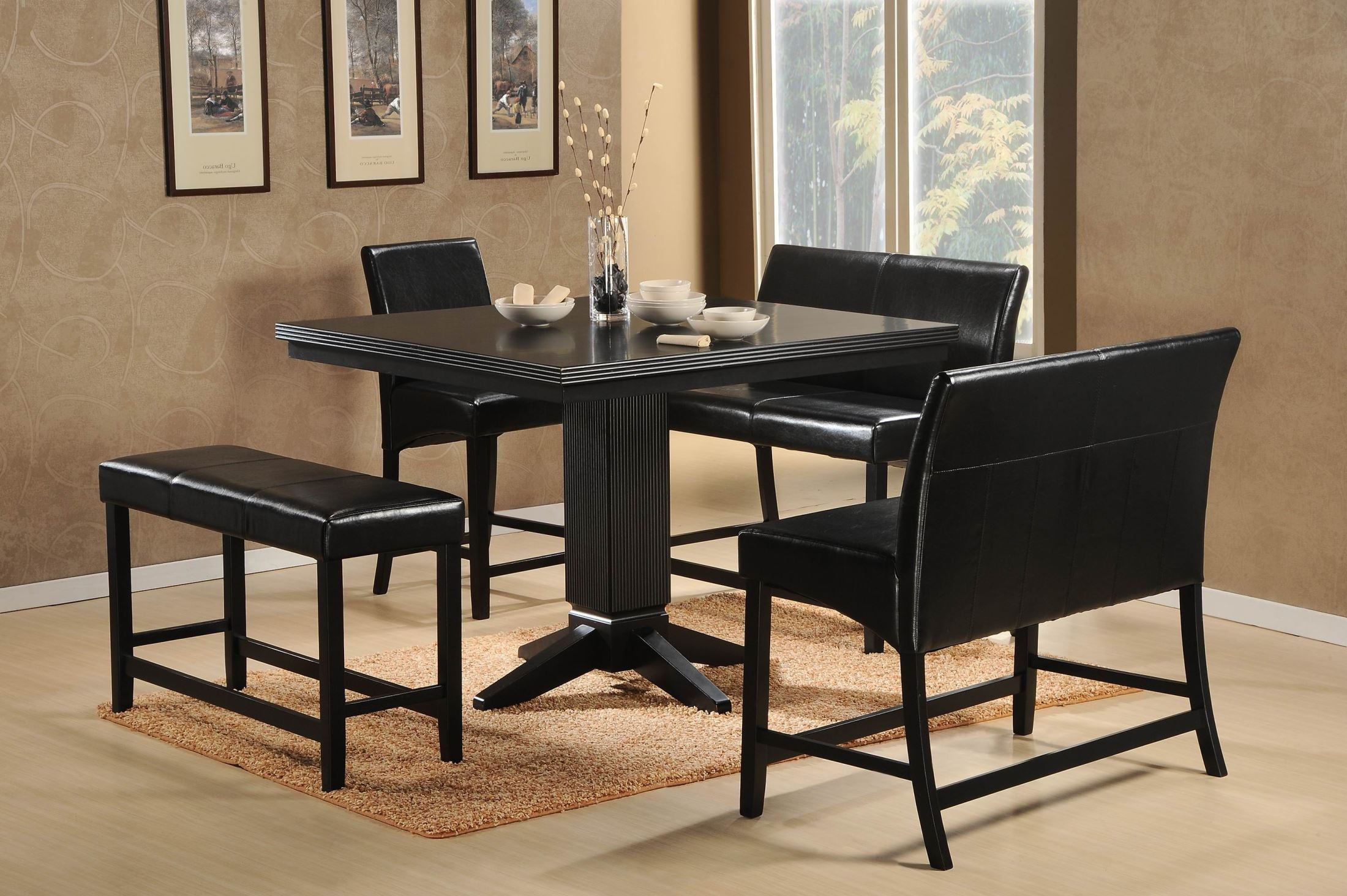 Counter Height Nook Table : Papario nook Counter Height Dining Table from Homelegance (5351-36 ...