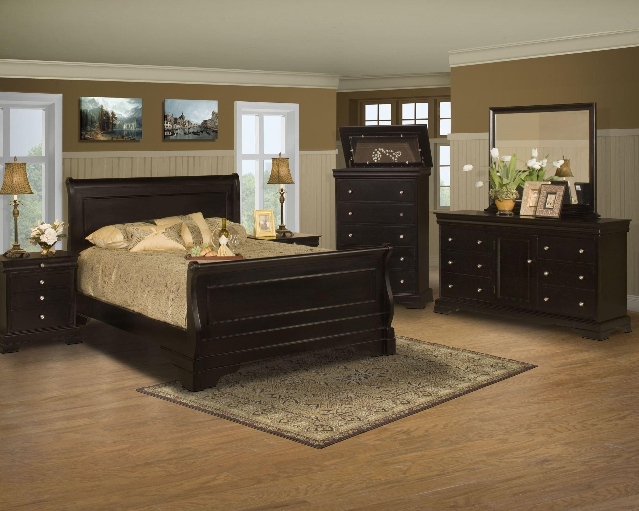 belle rose black cherry sleigh bedroom set from new bedroom furniture sets black bedroom sets sleigh beds