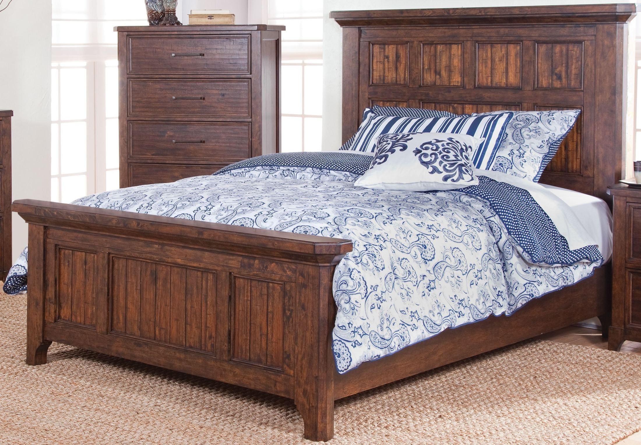 Kittredge Ranchero Distressed Panel Bedroom Set B0360 310 320 330 New Classics
