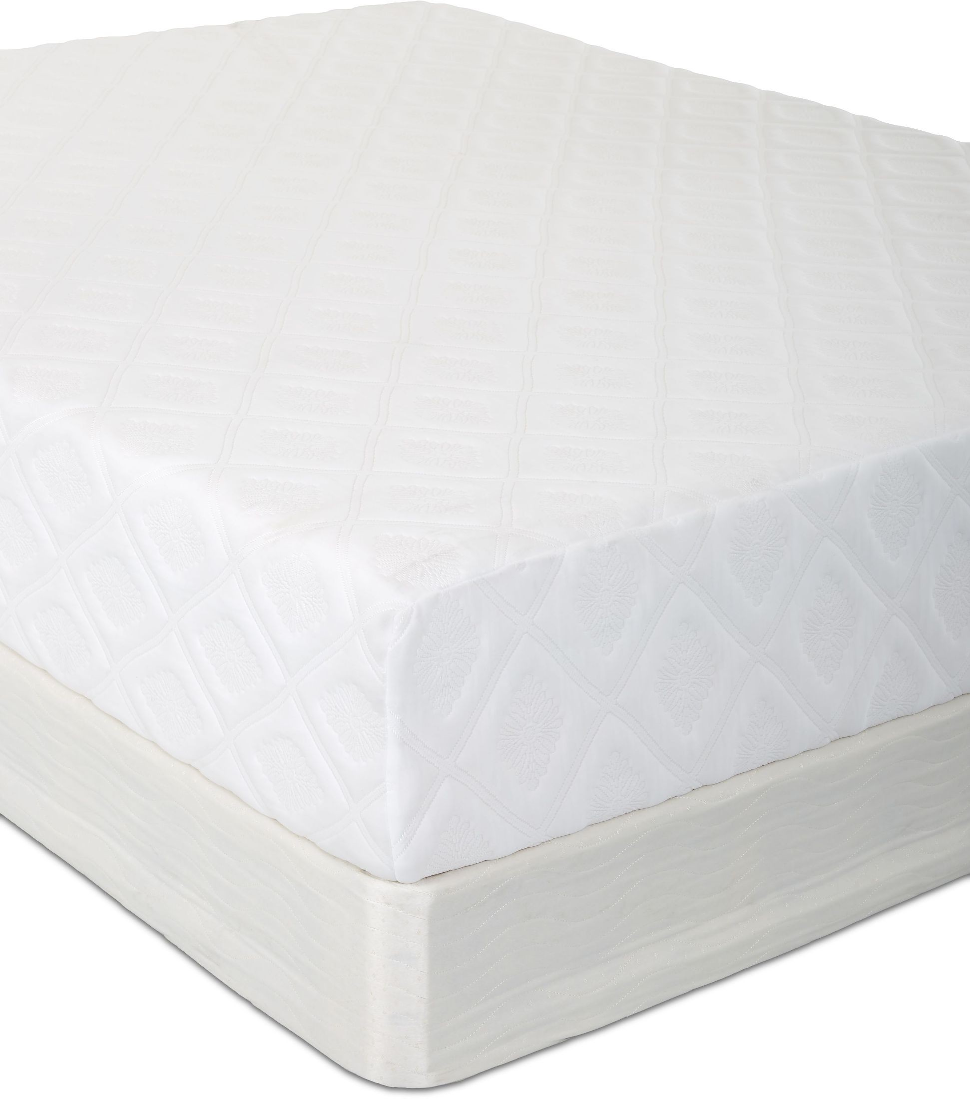 Bayshore White Twin Extra Long Memory Tex Mattress