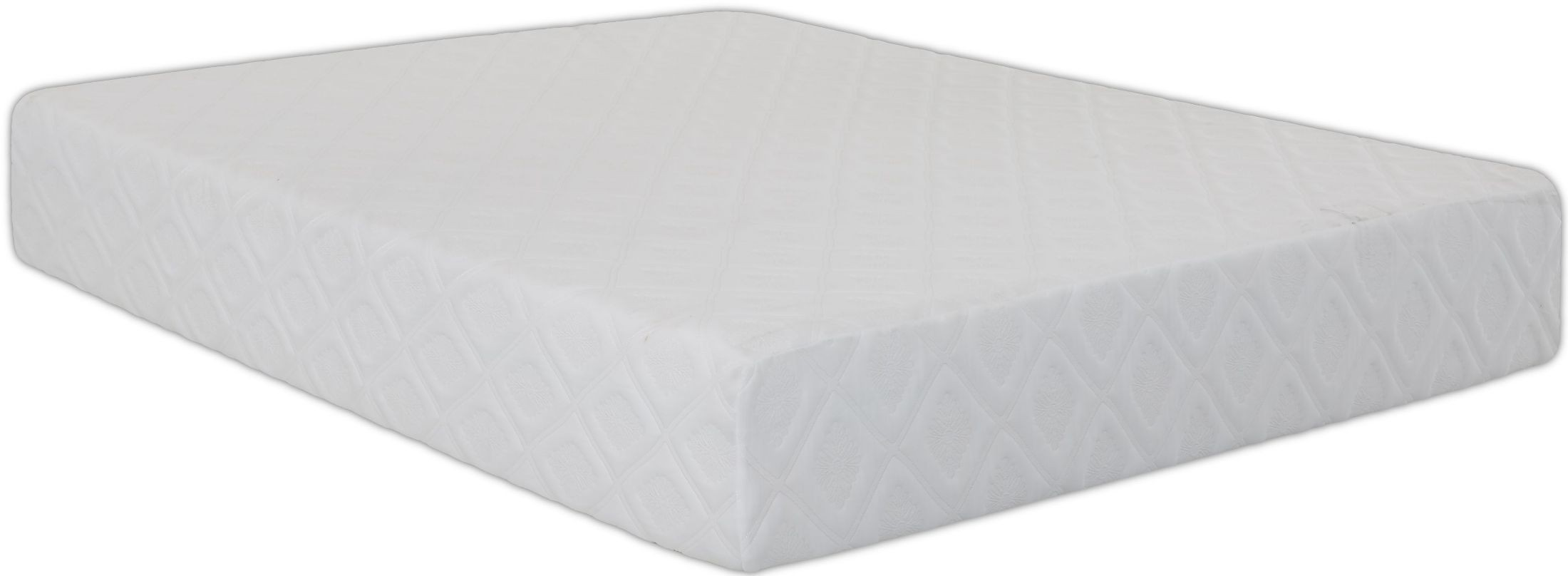 Bayshore White Twin Extra Long Memory Tex Mattress Bayshortx Klaussner