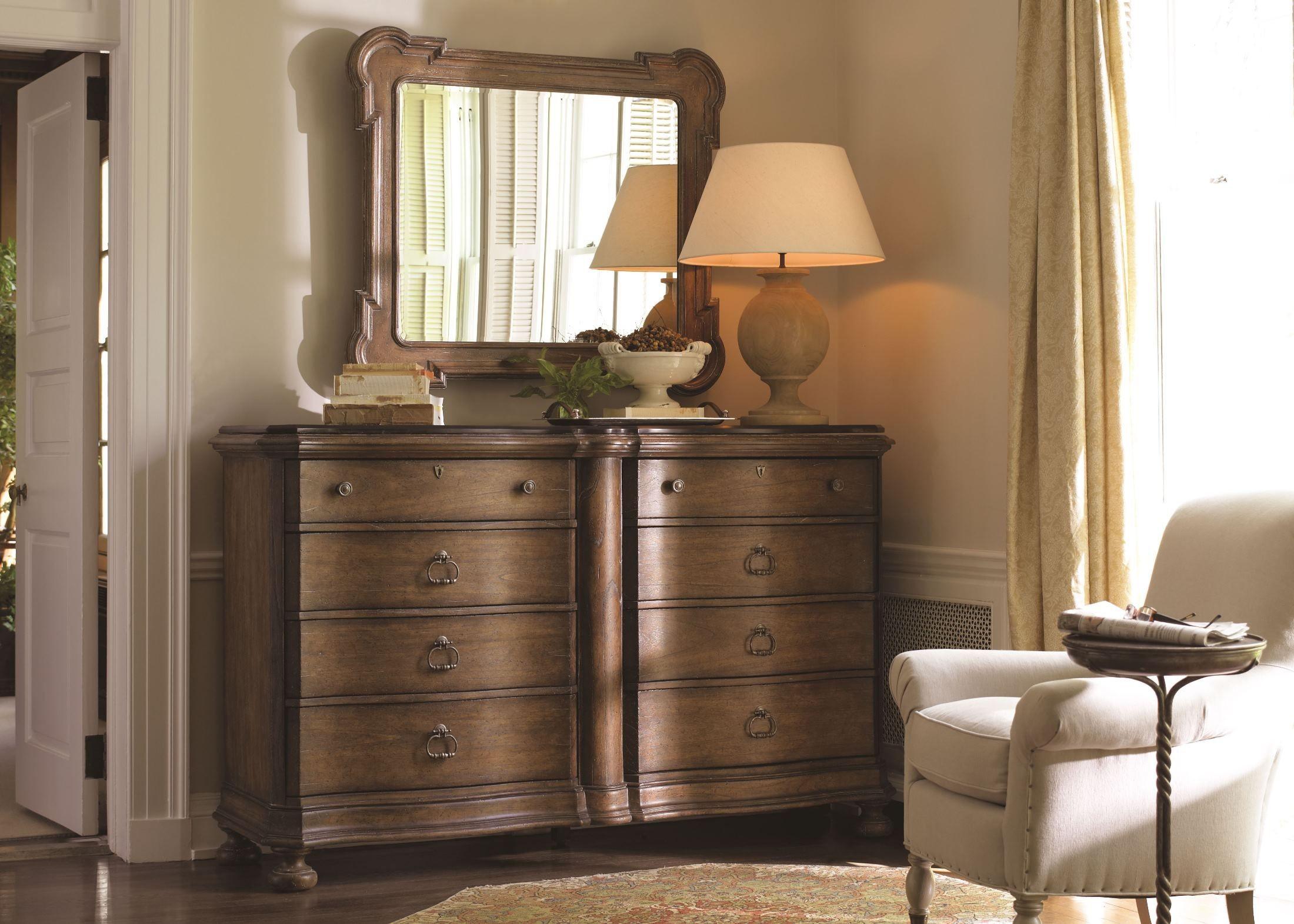European Farmhouse Blond Upholstered Bedroom Set 018 63 42 Stanley Furniture