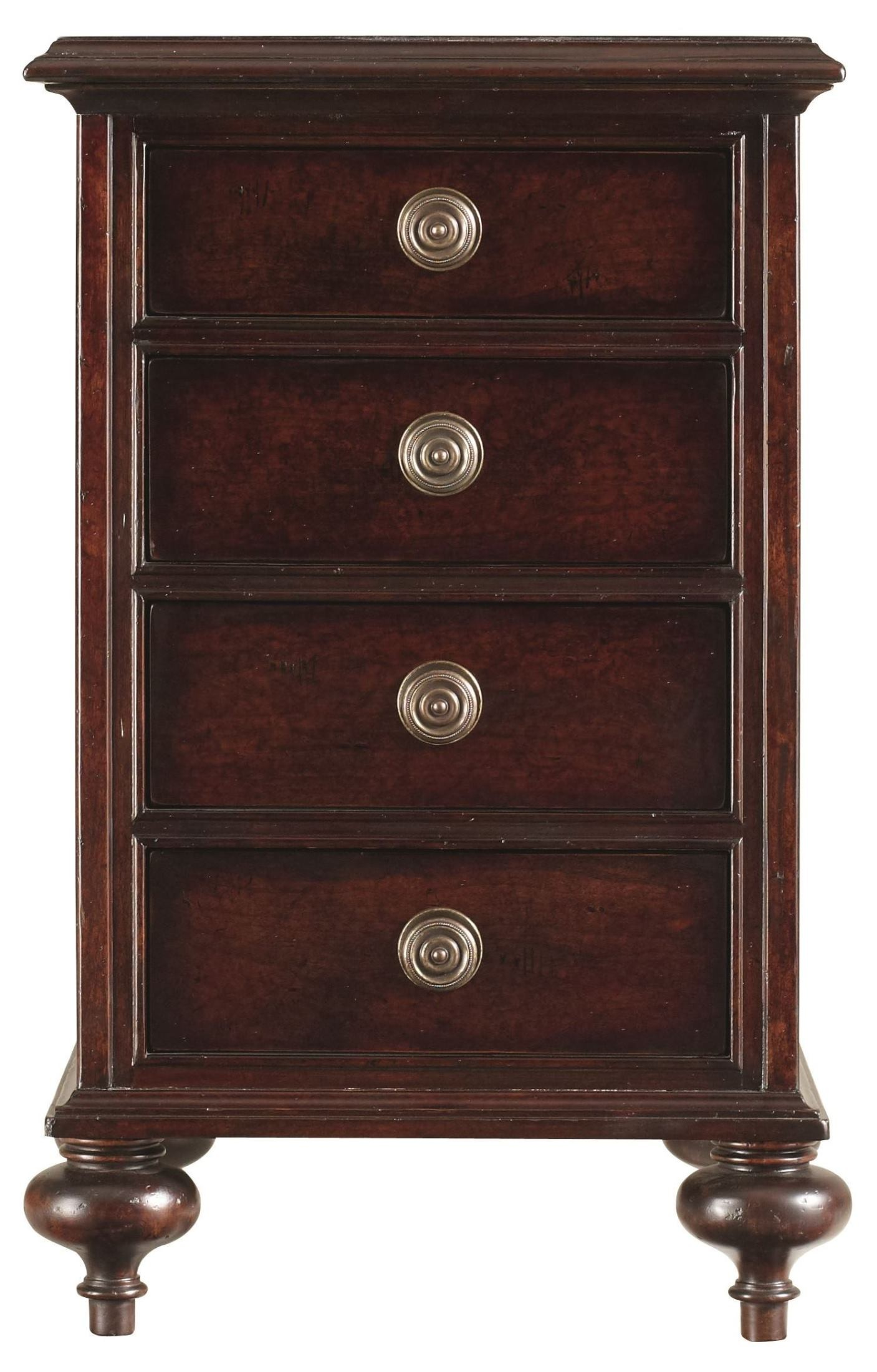British Colonial Sleigh Bedroom Set From Stanley 020 63