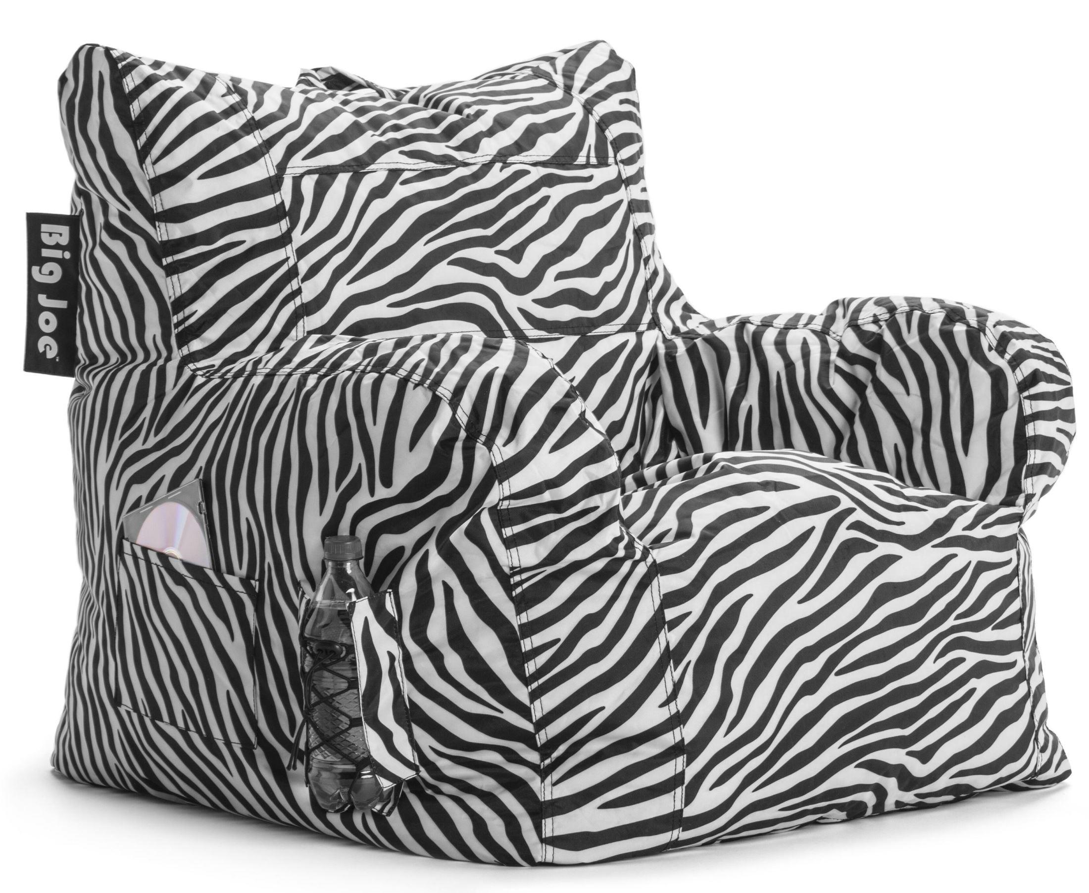 Big Joe Dorm Zebra SmartMax Chair From Comfort Research 645182