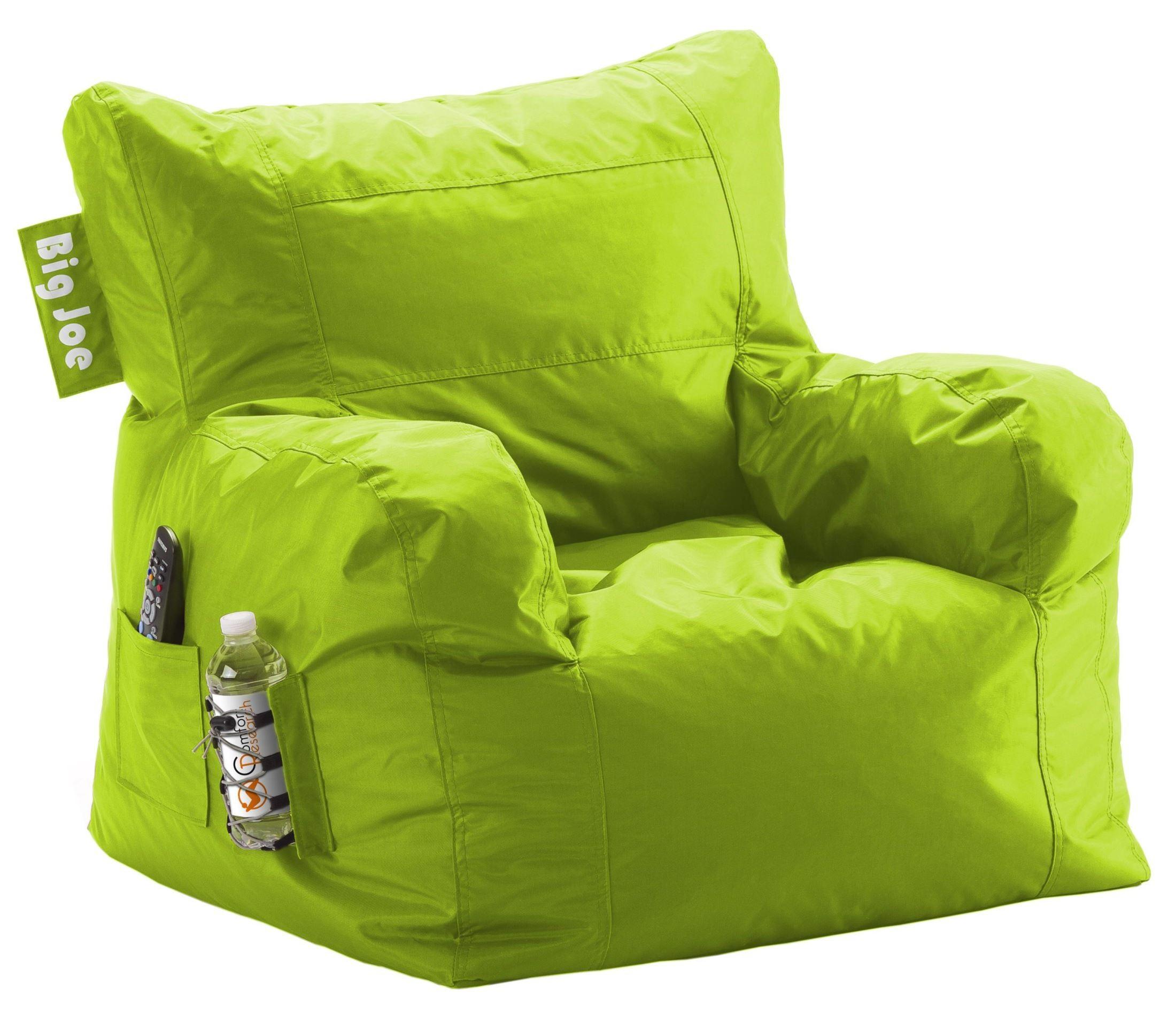 Big Joe Dorm Spicy Lime SmartMax Chair From Comfort