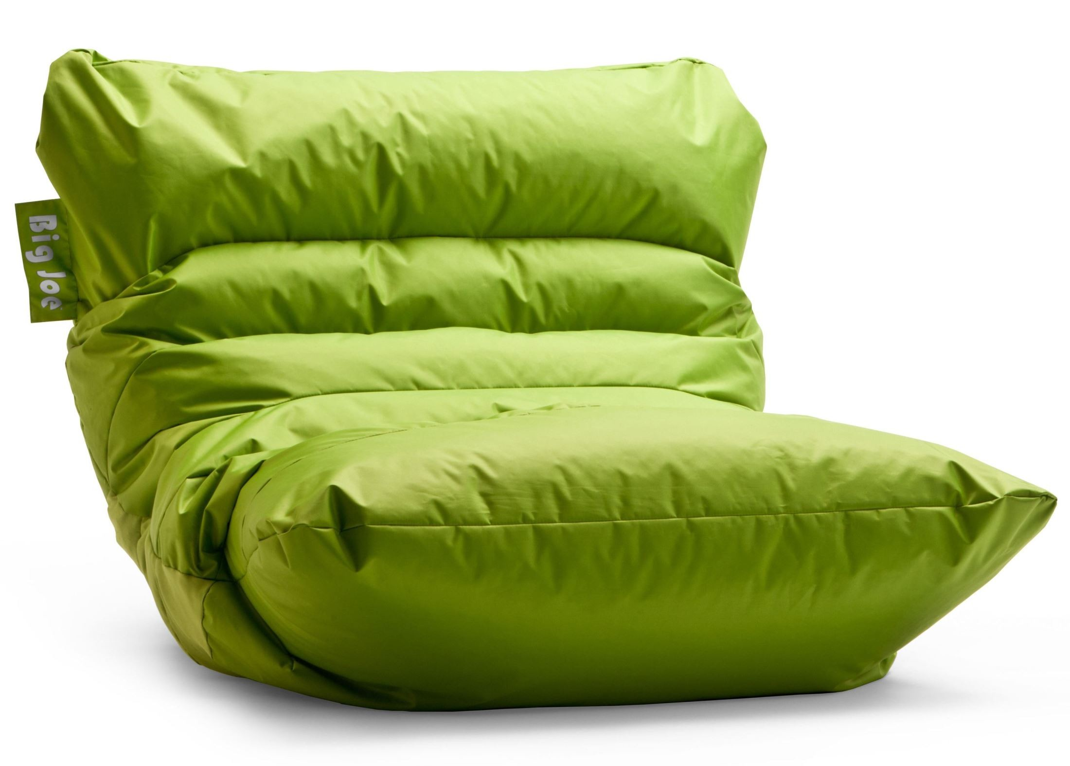 Big joe roma spicy lime smartmax bean bag chair from comfort research
